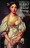 Selected Writings (0872207439) by Heinrich Von Kleist