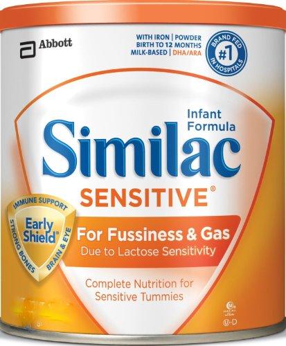 Similac Sensitive Advance Infant Formula with Iron, Powder, 8 Ounces