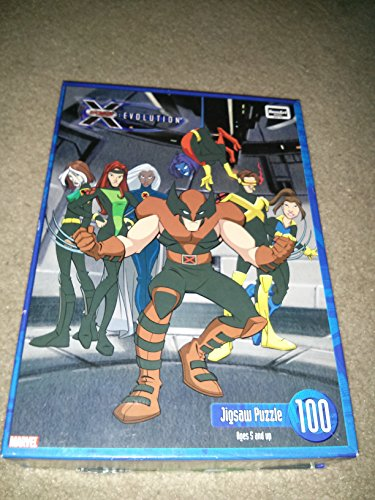 Xmen 100 piece puzzle, evolution team, wolverine X-men - 1
