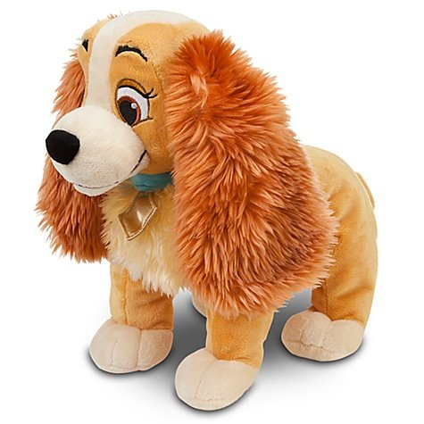 Lady and the Tramp: Lady Plush -- 14'' L