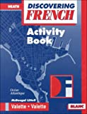 McDougal Littell Discovering French Nouveau: Activity Workbook Level 3