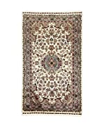 L'Eden del Tappeto Alfombra Kashmirian F/Seta Beige / Gris 152  x  91 cm