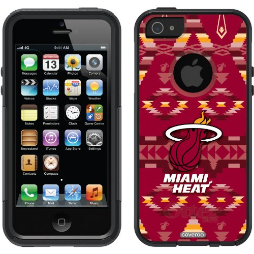 Best Price Miami Heat - Tribal Print design on a Black OtterBox® Commuter Series® Case for iPhone 5s / 5