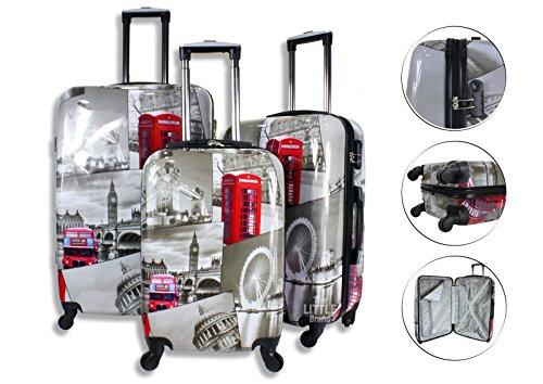lightweight-4-wheel-hard-shell-pc-london-printed-luggage-set-suitcase-cabin-travel-bag-small-20-cabi