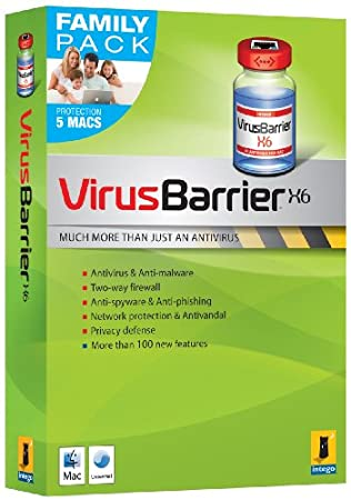 VIRUSBARRIER X6 FAMILY PACK