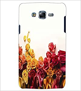PRINTSWAG FLOWERS Designer Back Cover Case for SAMSUNG GALAXY J5