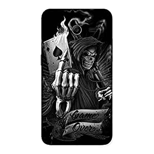 Premium Game Over Back Case Cover for Galaxy Core 2