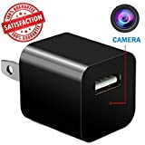 [2018 Edition] Hidden Camera USB Phone Charger - 1080P HD Video Recording With 32GB Memory & Motion Detection - Nanny Spy Cam for Professional Surveillance