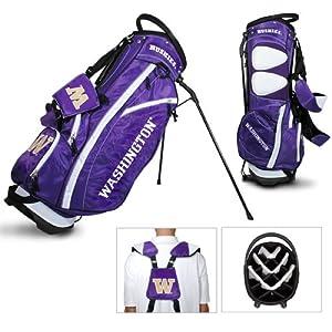 Washington Huskies Ncaa Stand Bag - 14 Way (Fairway) by Team Golf