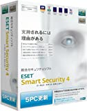 ESET Smart Security V4.0 5PC更新