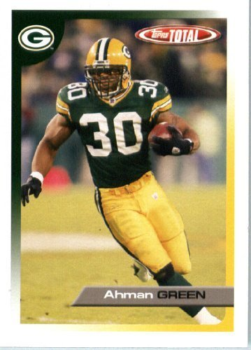 2005 Topps Total Football Karte ( ) # 321 Ahman Green Green Bay Packers