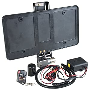 Show N Go Electric Powered License Plate Frame - Shows & Hides Automatically with Remote Key Fobs