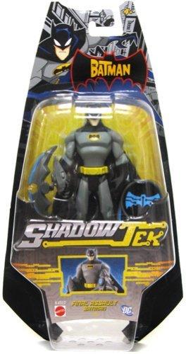 Buy Low Price Mattel The Batman Shadow Tek Action Figure Batman [Final Assault] (B000PII310)