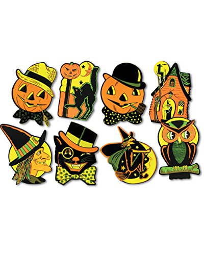 Halloween Cutouts Party Accessory (1 count)