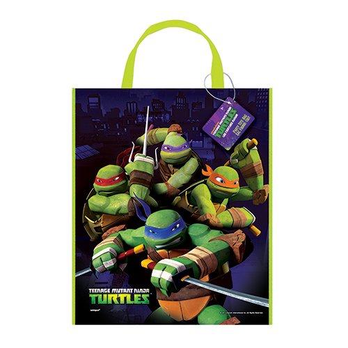 Large Plastic Teenage Mutant Ninja Turtles Goodie Bag, 13