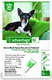 Bayer Topical Flea Treatment for Dogs up to 10 Lbs (6 Applications)