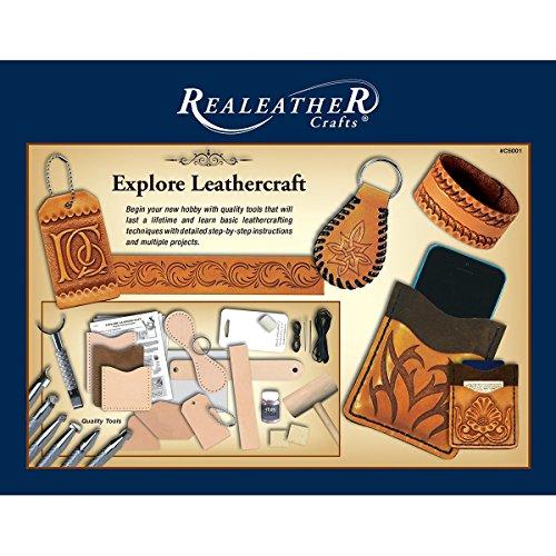Realeather Crafts T5001-00 Explore Leathercraft Kit