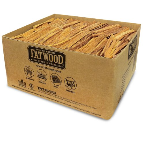 Fatwood Firestarter 9951 1.25 Cubic Feet Fatwood for Fireplace in Bulk Box, 50-Pound (Coal Stove Fire Starter compare prices)