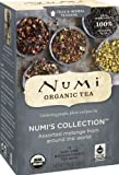 Numi Organic Tea Numis Collection, Assorted Full Leaf Tea and Teasan, 18-Count Tea Bag