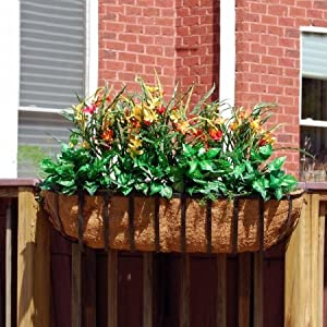 "Newport Rectangular Window Box Planter Size: 36"""