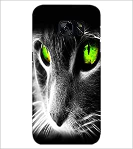 PrintDhaba Digital Cat D-2126 Back Case Cover for SAMSUNG GALAXY S7 (Multi-Coloured)