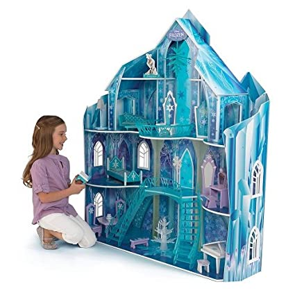 Disney Frozen Snowflake Mansion Dollhouse by KidKraft Frozen Dollhouse