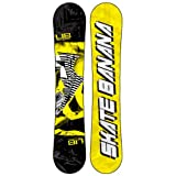 Lib Tech Skate Banana BTX Snowboard, Yellow - 154cm