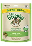 FELINE GREENIES Dental Cat Treats Catnip Flavor 5.5 oz.