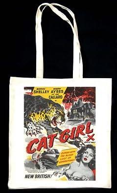 Cat Girl TOTE BAG