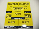 45 X Clipper Lighter Flints, Will Work In ALL Flint Lighters Including Zippo Lighters