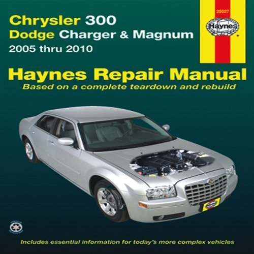 title-chrysler-300-dodge-charger-magnum-2005-thru-2010-haynes-repair-manual-1st-first-by-editors-of-