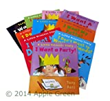 Tony Ross Little Princess: 10 books - I Want My Light On! / I Want To Do It by Myself / I Want to Go Home / I Want A Sister / I Don't Want To Go To Hospital / I want My Tooth / I want My Potty / I Dont Want to Wash My Hands/ I Want My Dummy/I Want A Party