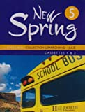 echange, troc Lemarchand-F+Julie-K - New Spring Anglais 5e Lv1 - Cassettes Audio Classe - Edition 2007