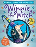 Valerie Thomas Winnie the Witch 25th Anniversary Edition (paperback and CD)