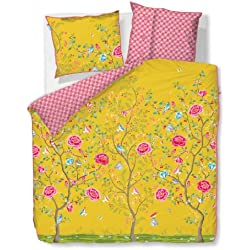 Pip Studio Bettwäsche Morning Glory 135-200 cm + 80-80 cm Yellow