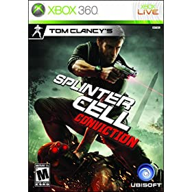 519D7LdVdoL. AA280  Tom Clancys Splinter Cell: Conviction for X360   $40