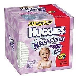 Huggies Natural Care Disposable Washcloths
