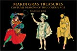 img - for Mardi Gras Treasures: Costume Designs of the Golden Age Postcard Book book / textbook / text book