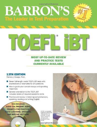 Barron's TOEFL iBT with Audio Compact Discs (Barron's...