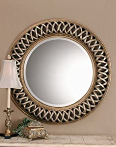 Extra large celtic knot round wall mirror for Extra large round mirror