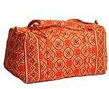 Vera Bradley Large Duffel Bag in Paprika