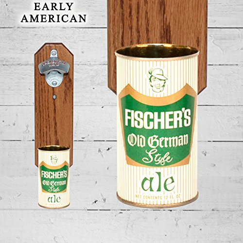 wall-mounted-bottle-opener-with-vintage-fischers-old-german-style-beer-can-cap-catcher