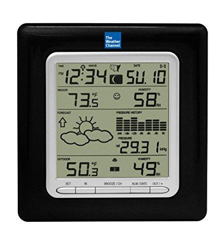 La Crosse Technology WS-9047U-IT Wireless Weather Station with Pressure Graph