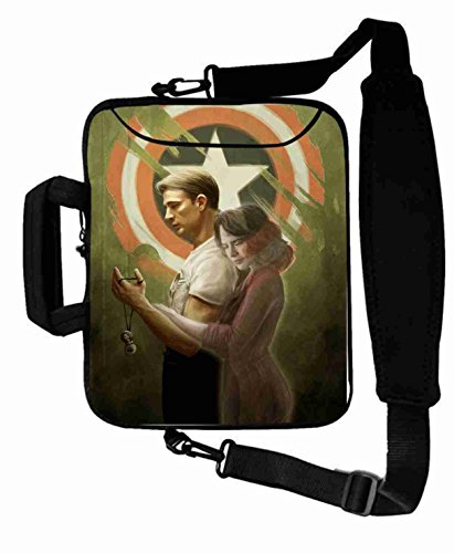 "Customized with the avengers movie Shoulder Bag For Men (10 Inch) For 9.7""iPad Air 2-iPad 1 2 3 4 5-Samsung Galaxy Tab 3 S T700-Note 10.1-Tab PRO-Google Nexus 10 - CB-10-5648"