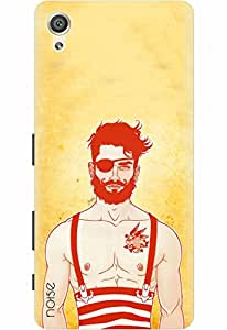 Noise Designer Printed Case / Cover for Sony Xperia X Dual / Patterns & Ethnic / Beard Design