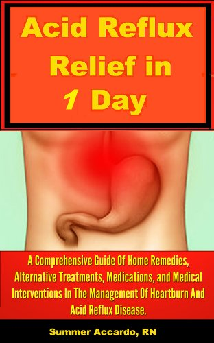 Book: Acid Reflux Relief - Natural Remedies by Summer Accardo