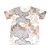 Graphic Clouds Print Unisex T-Shirt by Graniph