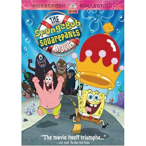 Amazon.com: The SpongeBob Squarepants Movie (Widescreen Edition