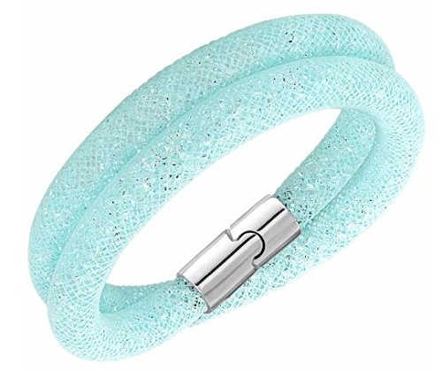 Swarovski Stardust Light Blue Double Bracelet - 5139746