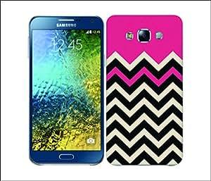 Galaxy Printed 1515 Block Chevron ROSE Hard Cover for Samsung GRAND NEO